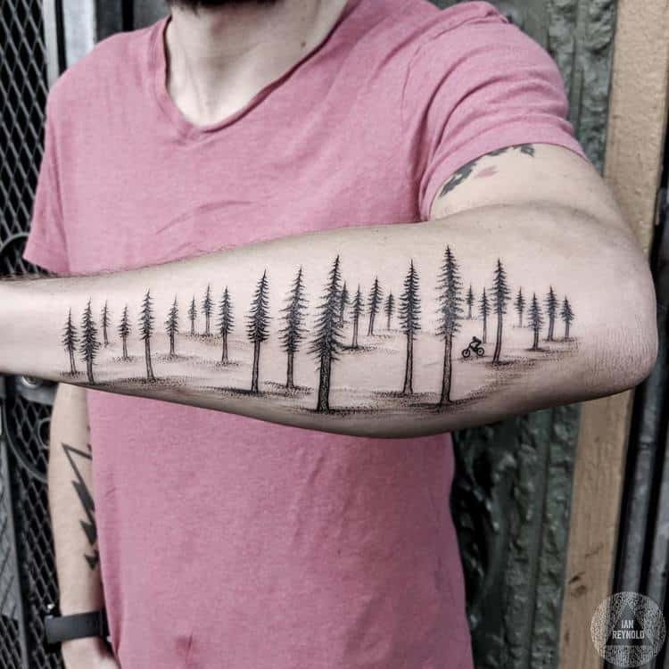 Forest Tattoo by ianreynold