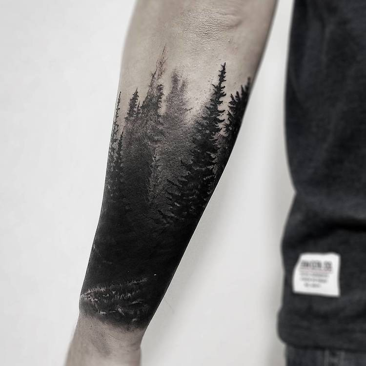 Forest Tattoo by olcur_tattoo
