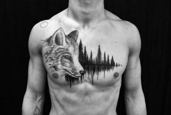 40 Creative Forest Tattoo Designs and Ideas