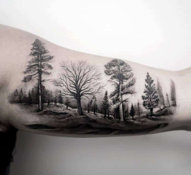 Forest Tattoo by turan.art