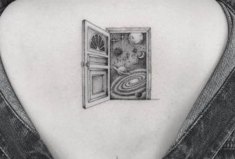 44 Fine Line Black and Grey Tattoos by Poonkaros