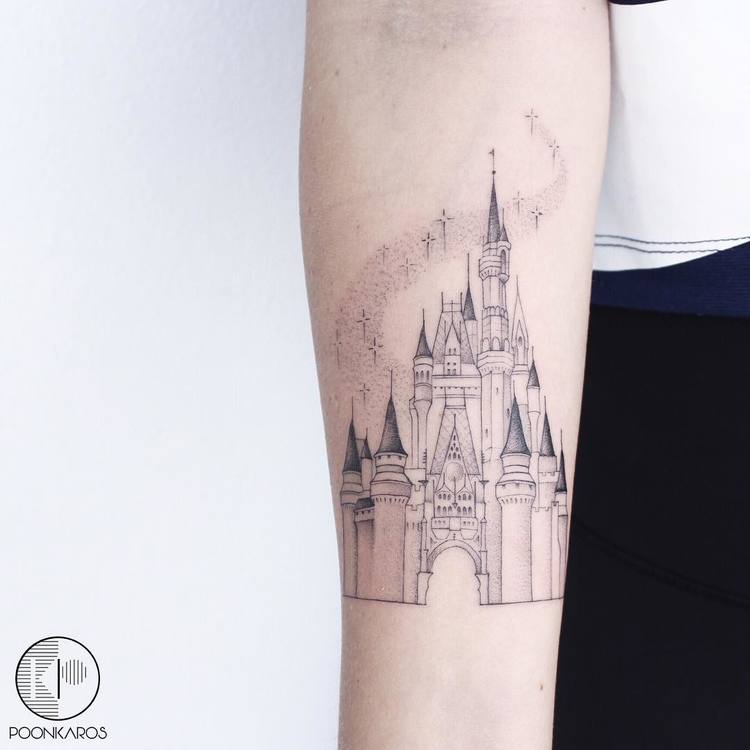 44 Fine Line Black And Grey Tattoos By Poonkaros Page 2