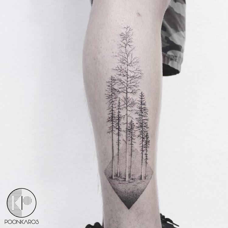 Forest Tattoo by poonkaros