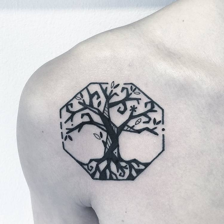 Tree of Life Tattoo by Greemtattoo