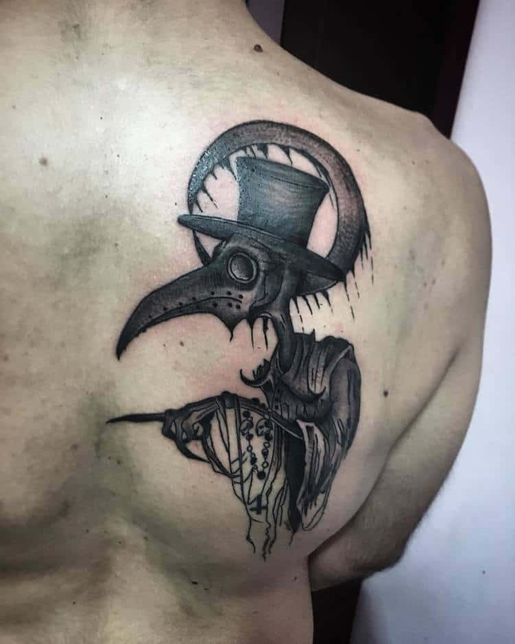 Plague Doctor Tattoo by konna_x