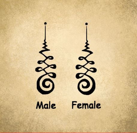 Unalome Male/Female Versions