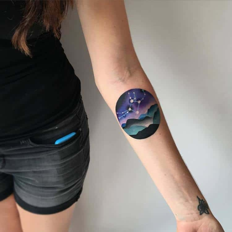 40 Gorgeous Constellation Tattoo Designs | Page 4 of 4 ...