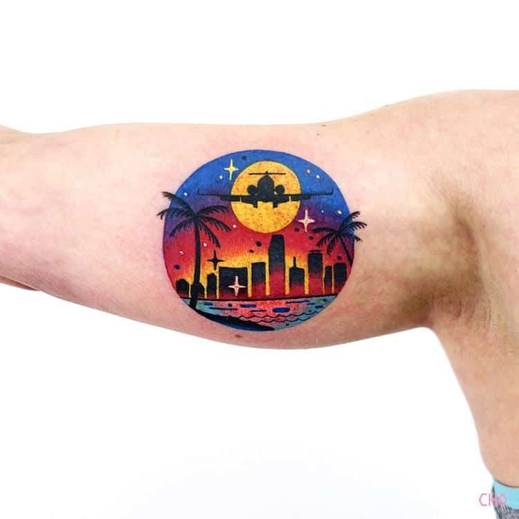 Miami Tattoo by Chotattooer