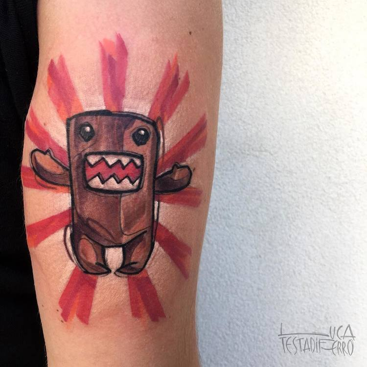 Domokun Tattoo by Luca Testadiferro