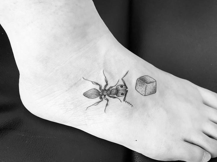 Ant Tattoo by inkyourskinbdc