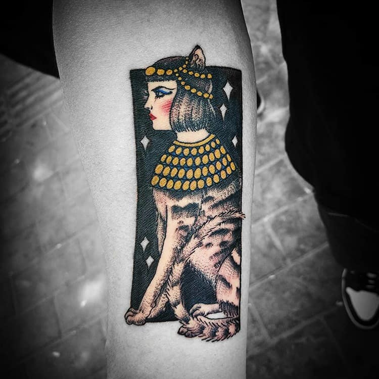 Egyptian Tattoo by ziggy.tattoo