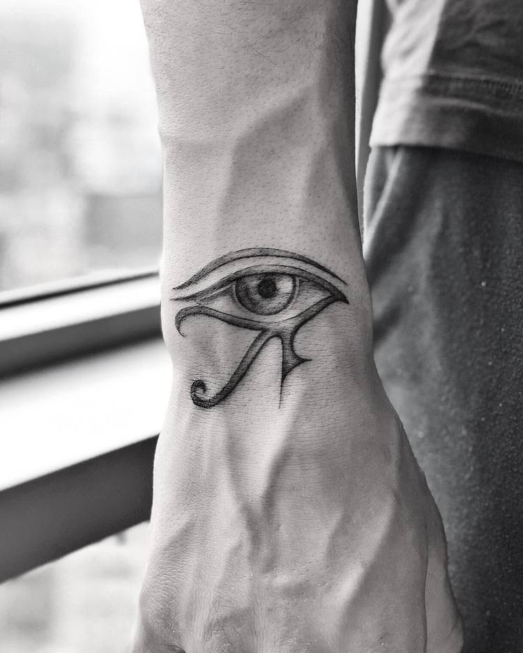 Eye of Horus Tattoo by victoriado