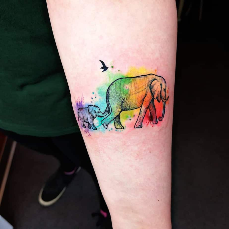 Elephant Tattoo by naiomitattoo