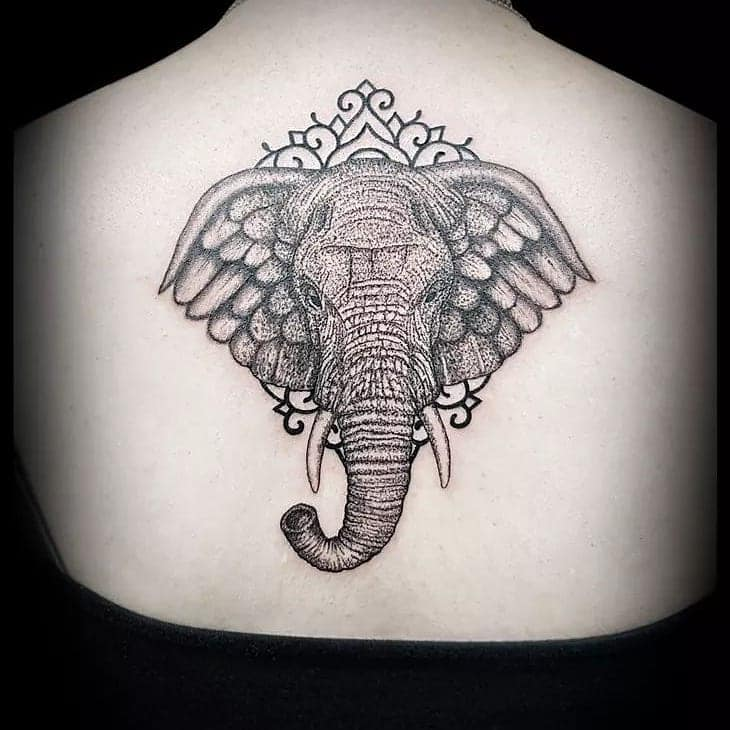 Elephant Tattoo by lonia_tattoo