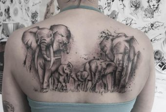 90 Magnificent Elephant Tattoo Designs