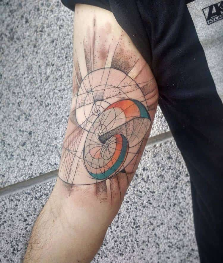 Fibonacci Tattoo by jvtattoo