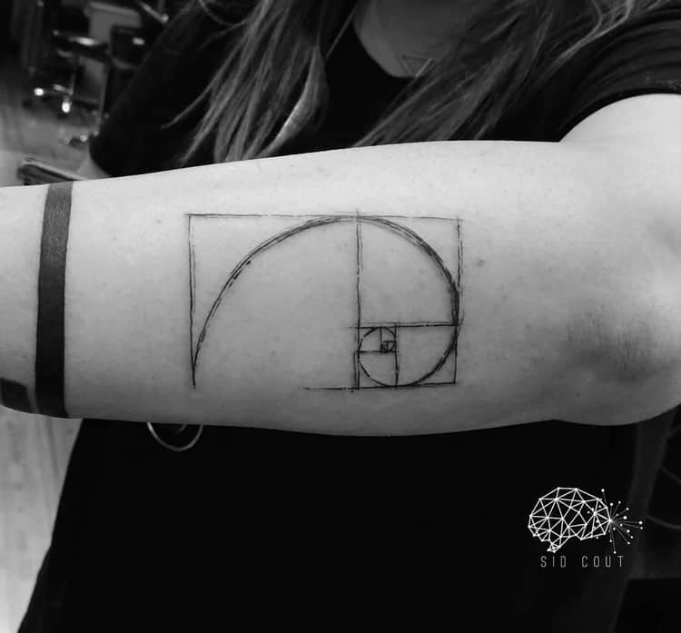 Fibonacci Tattoo by sidcout