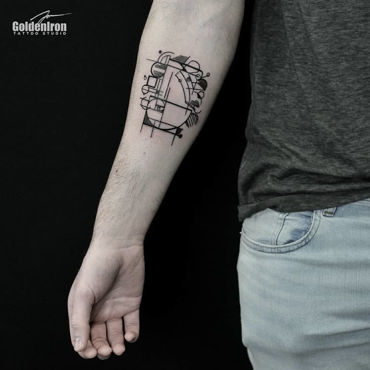 Fibonacci Tattoo by j.mo_ink