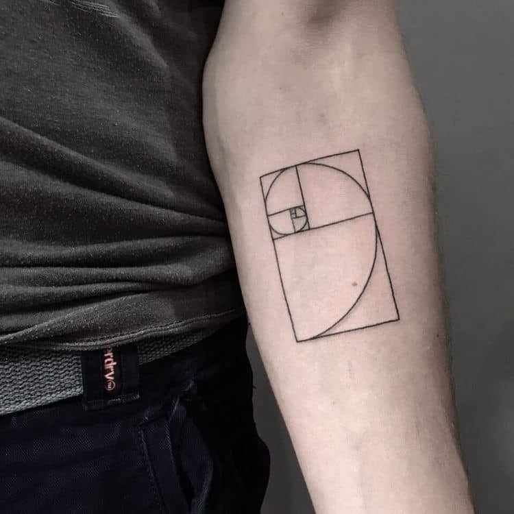 Fibonacci Tattoo by arboltattooart