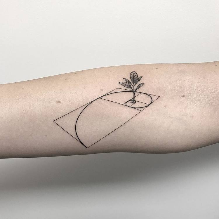 Fibonacci Tattoo by _mfox