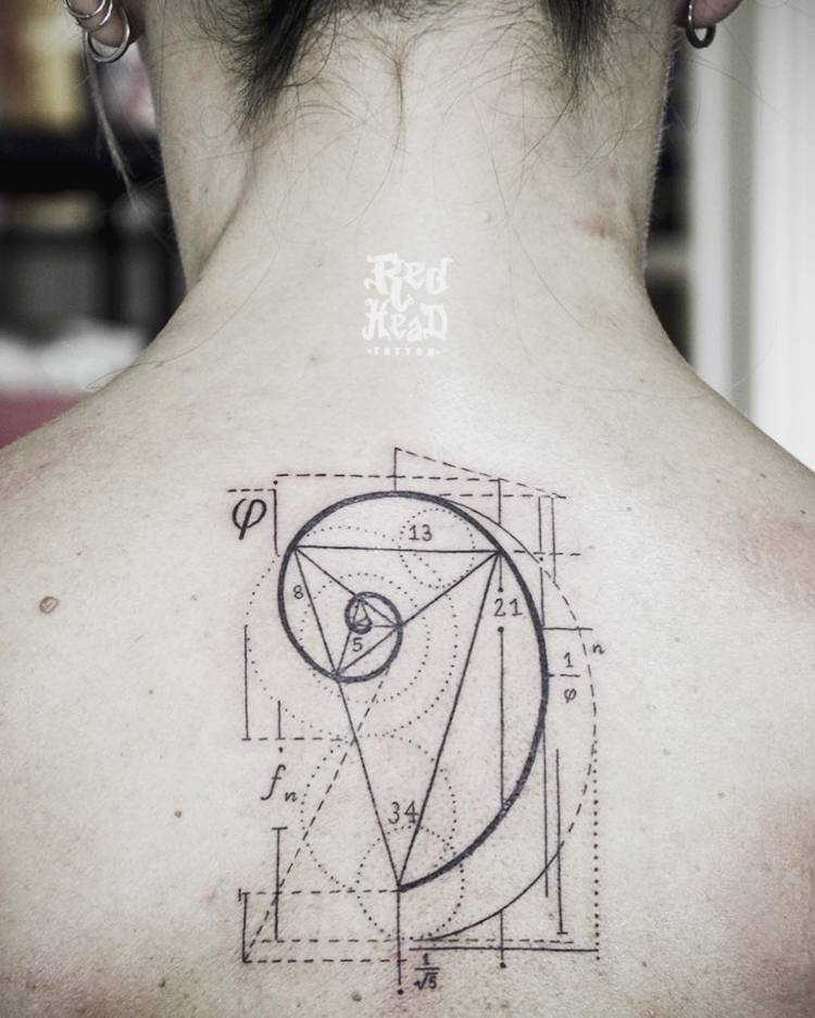 Fibonacci Tattoo by red_head_tattoo