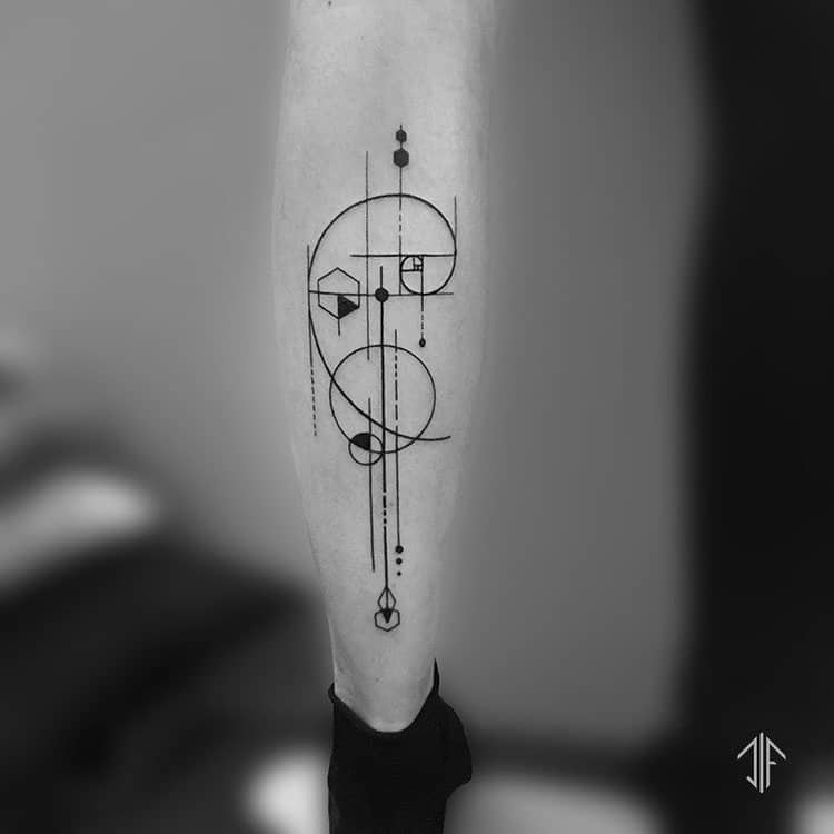 Fibonacci Tattoo by dif_yantra_tattoo