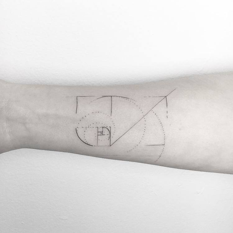 Fibonacci Tattoo by ynnopya