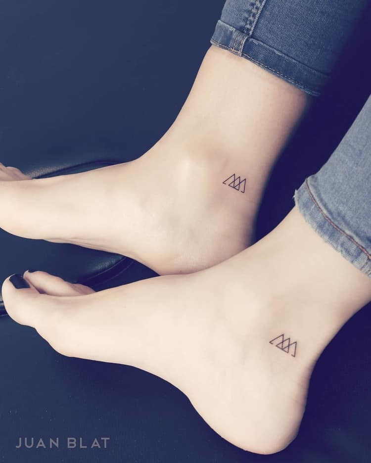 Matching Micro Tattoos by Juan Blat