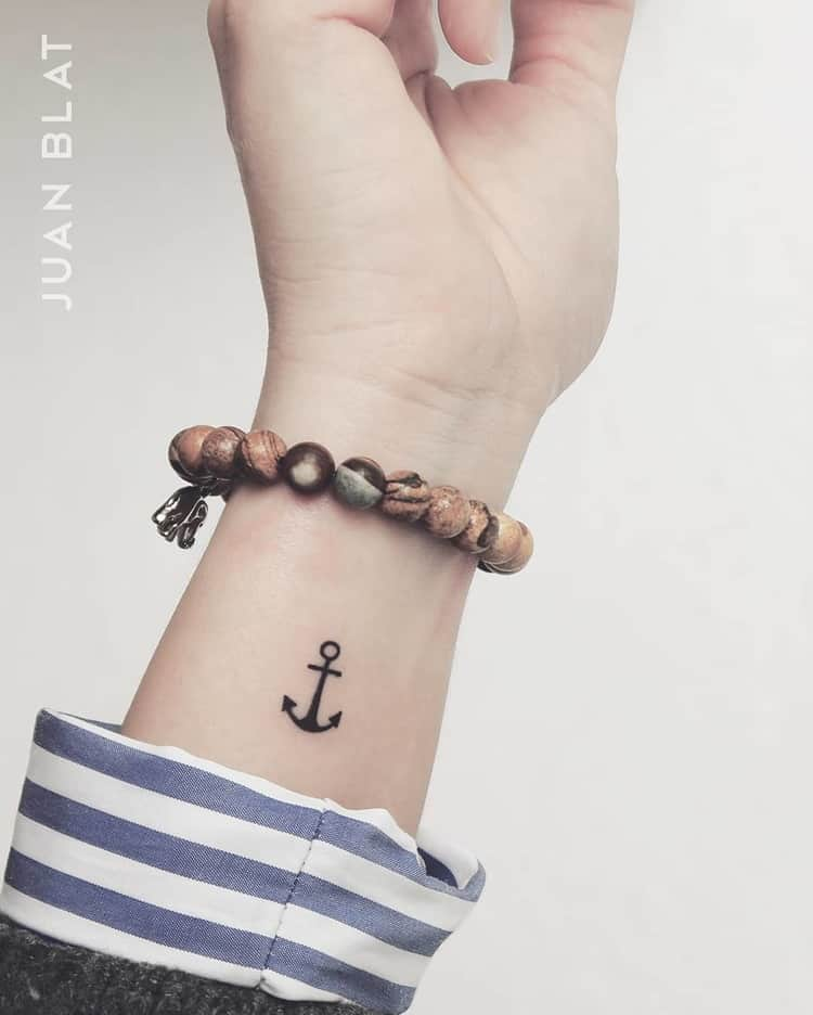Anchor Tattoo by Juan Blat