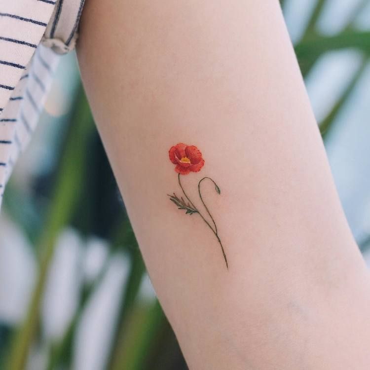 Poppy Tattoo by saegeemtattoo
