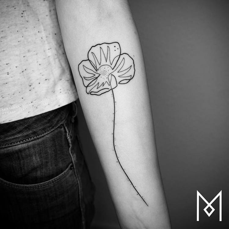 Poppy Tattoo by moganji