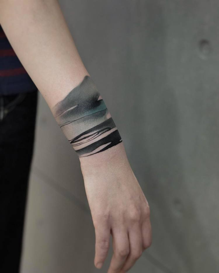 Wristband Tattoo By Chen Jie