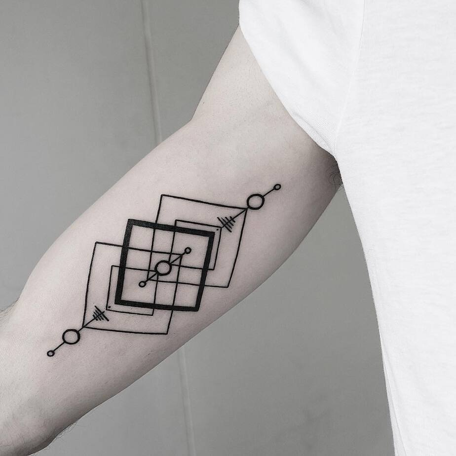Geometric Tattoo Design by Malvina Maria Wisniewska