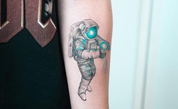 30 Stunning Dotwork Turquoise Tattoos by Evgeny Mel