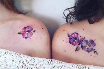 Violet Tattoo