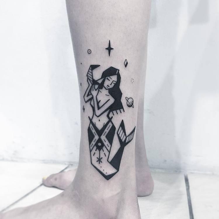 mermaid tattoo 32