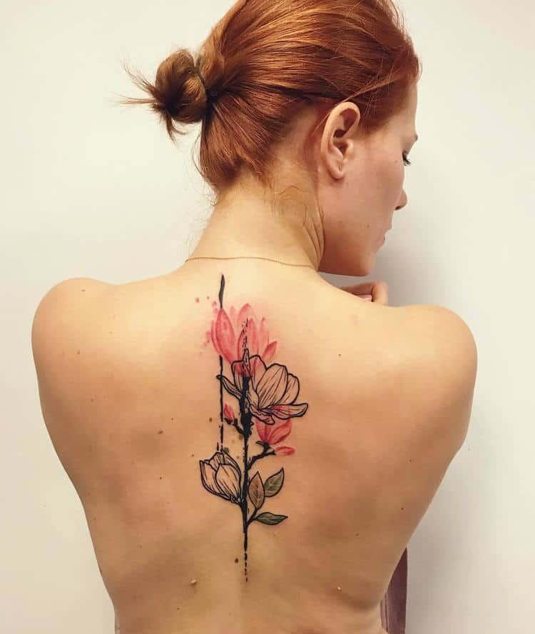 Magnolia Tattoo by lilke