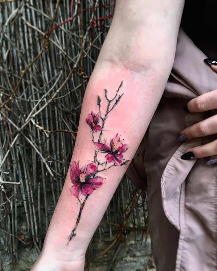 Magnolia Tattoo by dareksays
