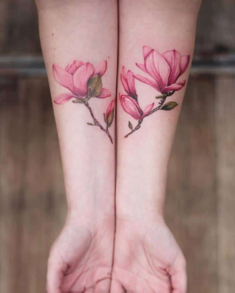 Magnolia Tattoo by cindyvanschie