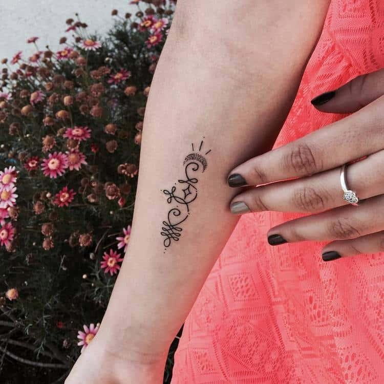 Unalome Tattoo by carlosemicortez