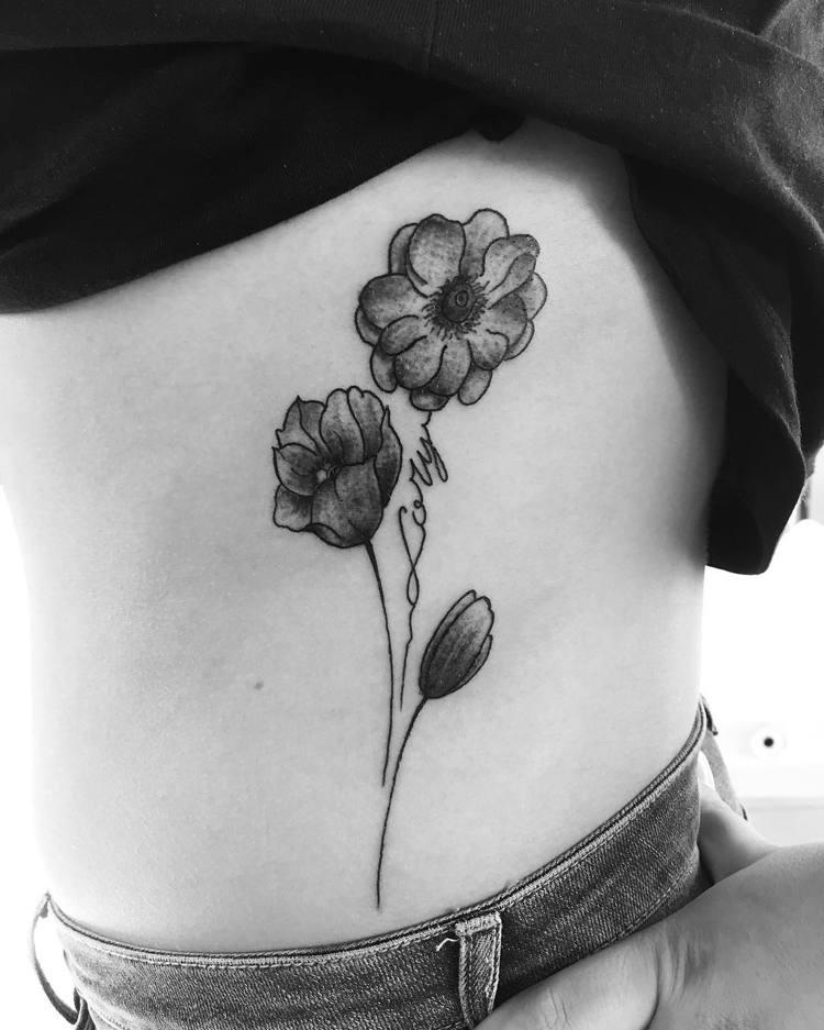 Anemone Tattoo by albino_zaurrini