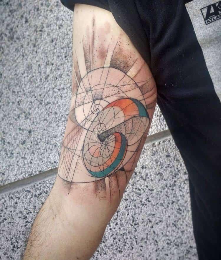 Fibonacci Tattoo by jvtattoo