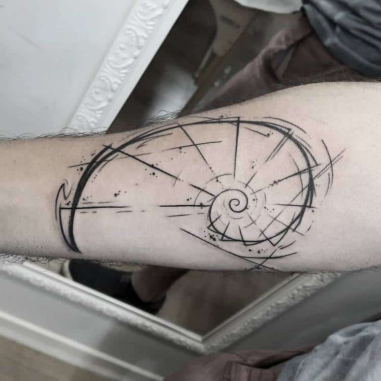 Fibonacci Tattoo by carolinahelenaart