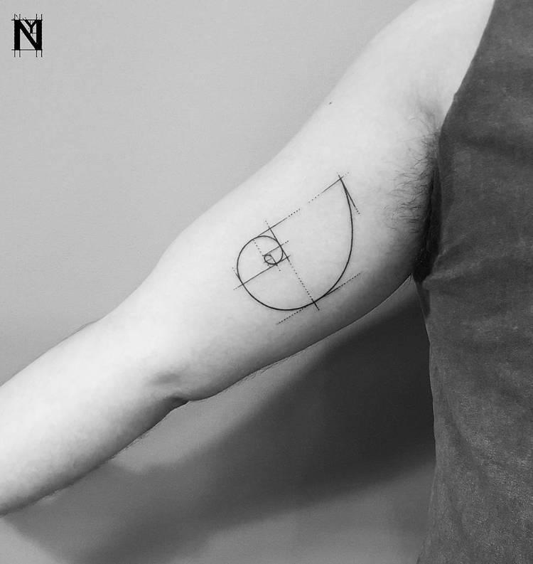 Fibonacci Tattoo by noamyonatattoos