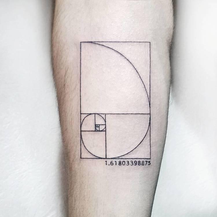 Fibonacci Tattoo by soyfeliz.pablodiaz