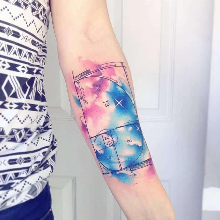 Fibonacci Tattoo by adrianbascur