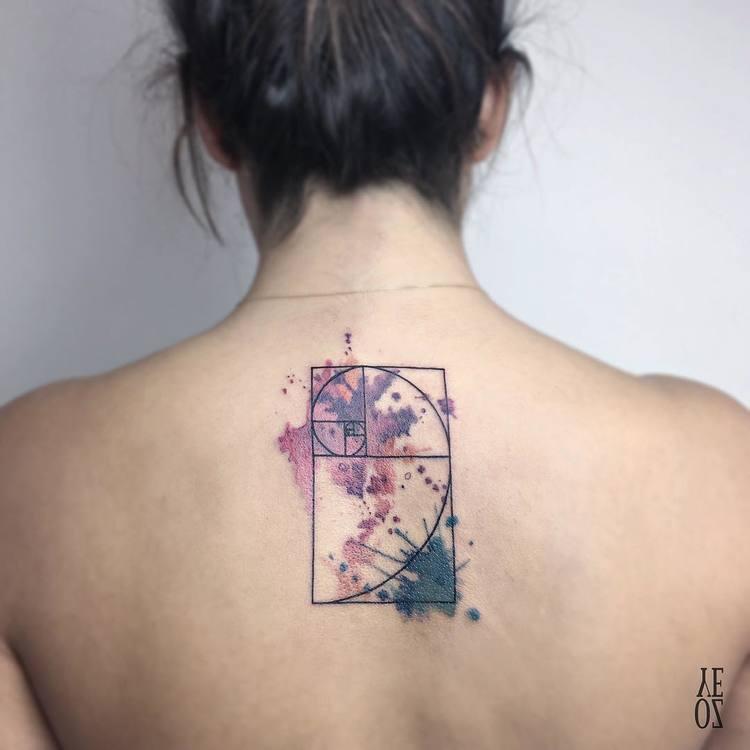 Fibonacci Tattoo by yelizozcan_tattooer