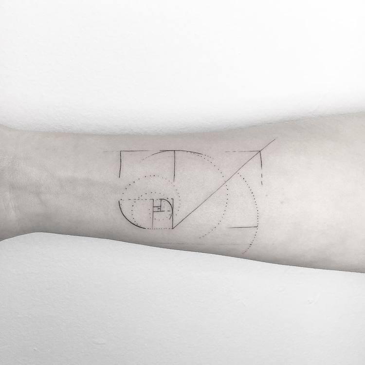 Fibonacci Tattoo by ynnopya