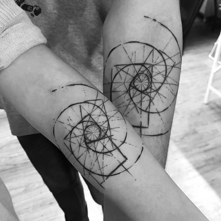 Fibonacci Tattoo by ricardodamaiatattoo