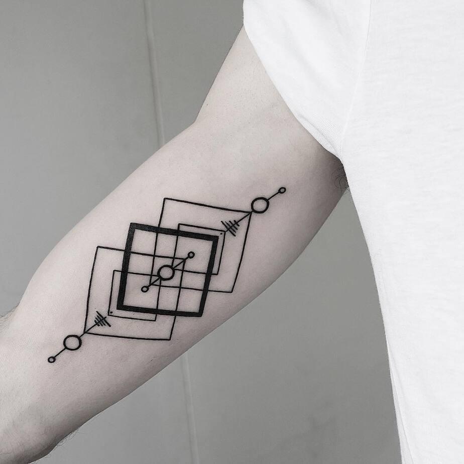Geometric Tattoo Design by Malvina Maria Wisniewska